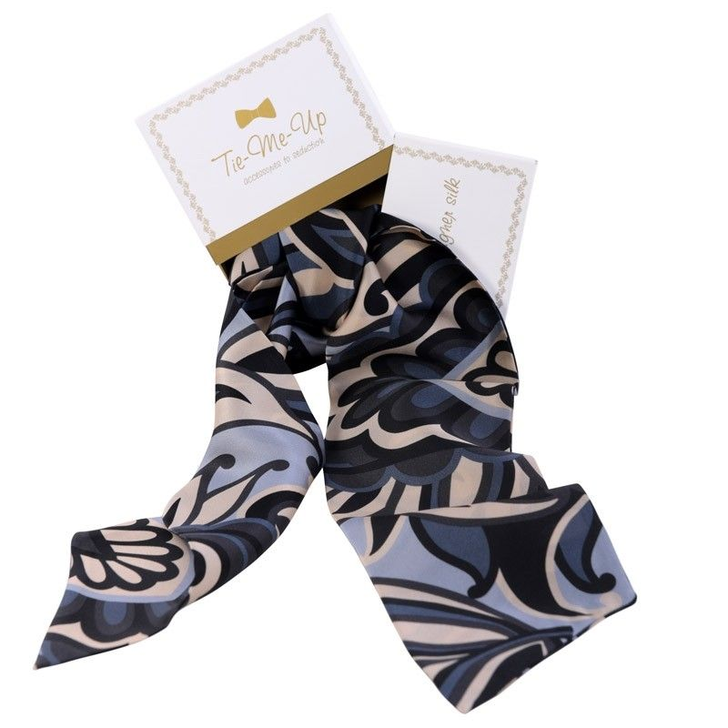 Luxury gift: Hypnose Silk Scarf and Bow