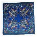 Luxury Gift: Silk Scarf Marina D'Este paisley arabesc