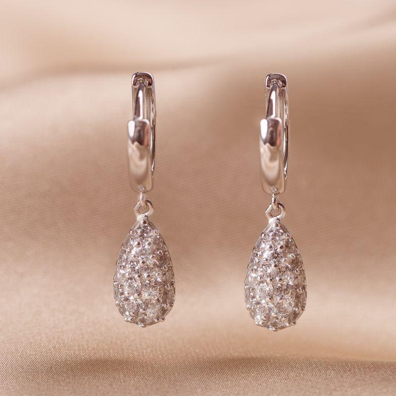 Cercei argint Beauty Elegance drops