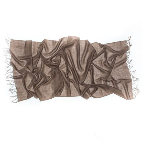 Wool Scarf Mila Schon cappuccino