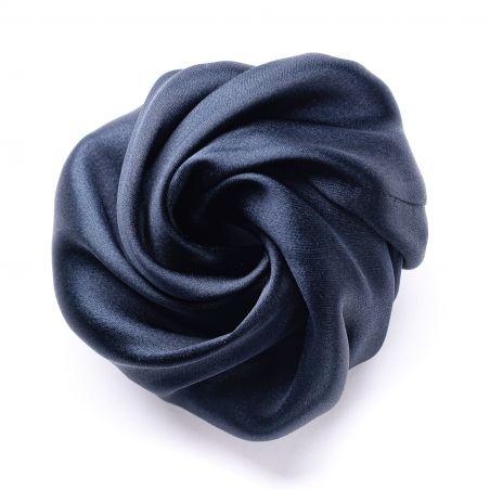 Black silk Hair Rose