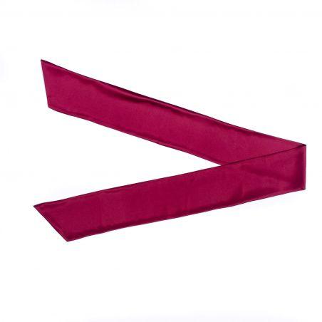 Long Silk Scarf burgundy