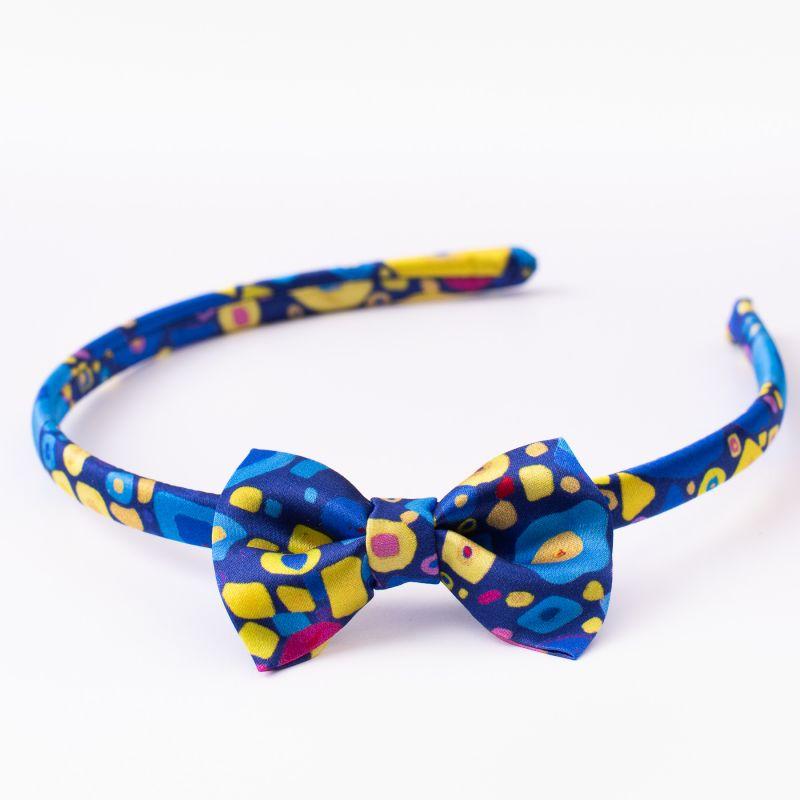 Headband cu fundita Flying Colors yellow