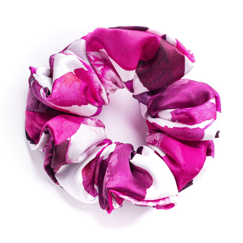 Hair Twist matase Cherry Roses