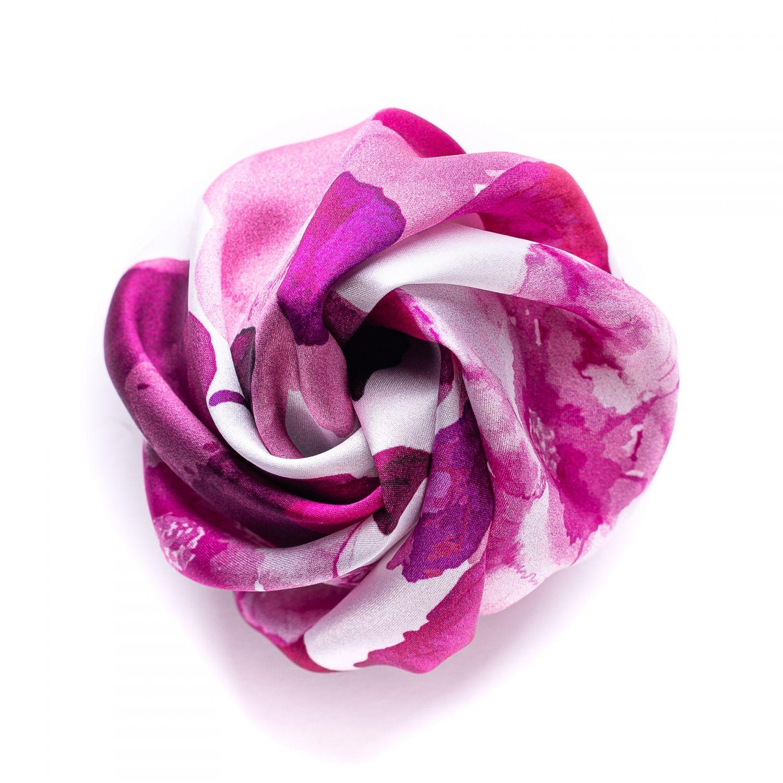 Cherry Roses silk Hair Rose