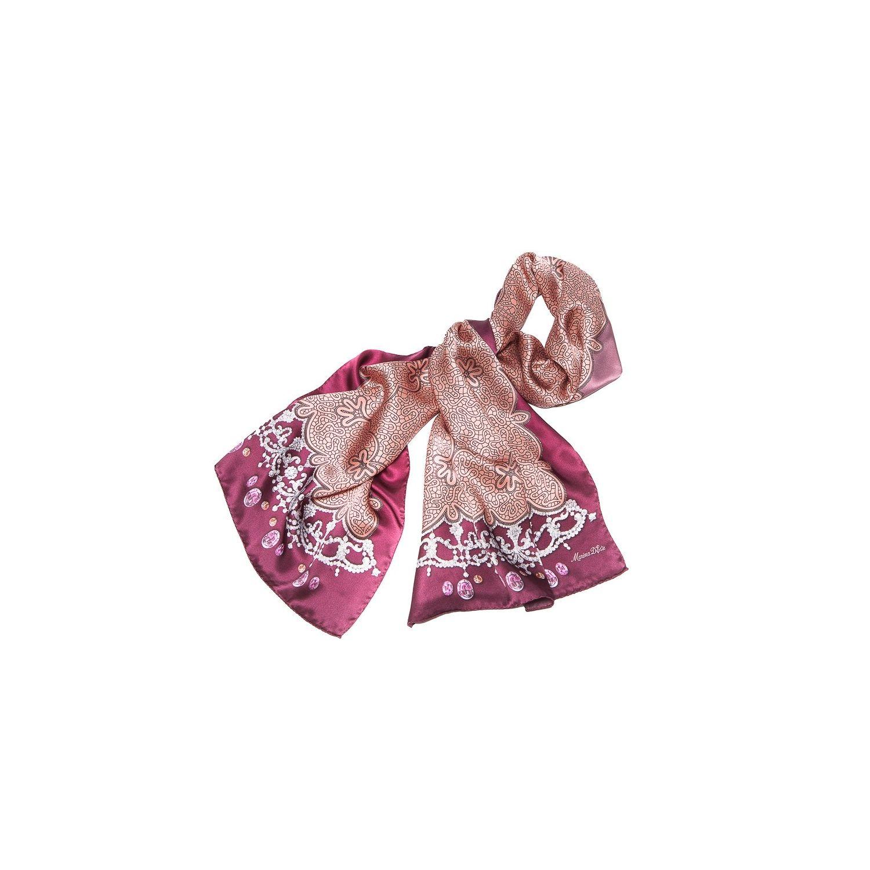 Silk Shawl Marina D`Este delicate purple