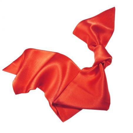 Tangerine hair scarf