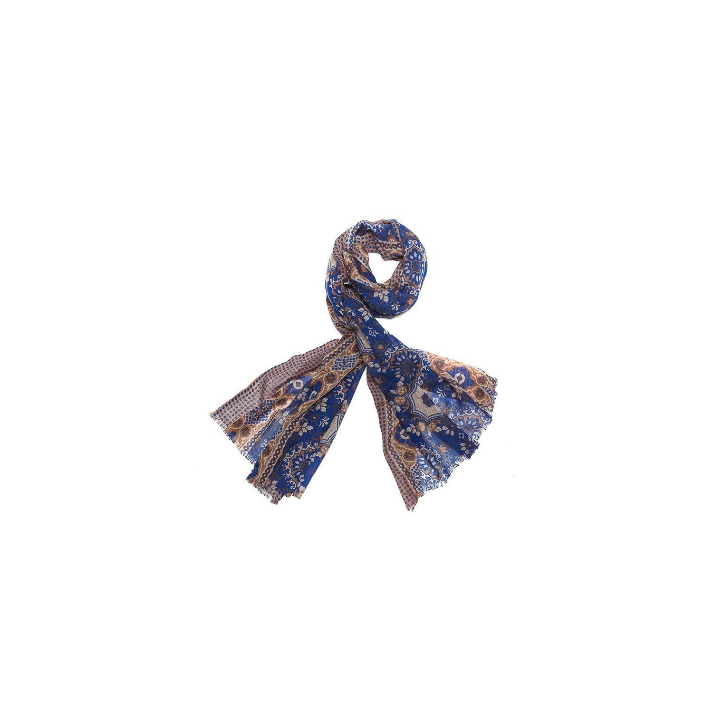 Esarfa lana barbati Mila Shon blue