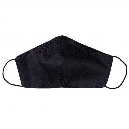 Silk mask Fashion black