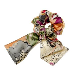 Indian Summer hair twist and hair scarf
