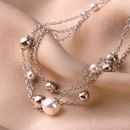Sterling Silver Necklace Gorgeous Look