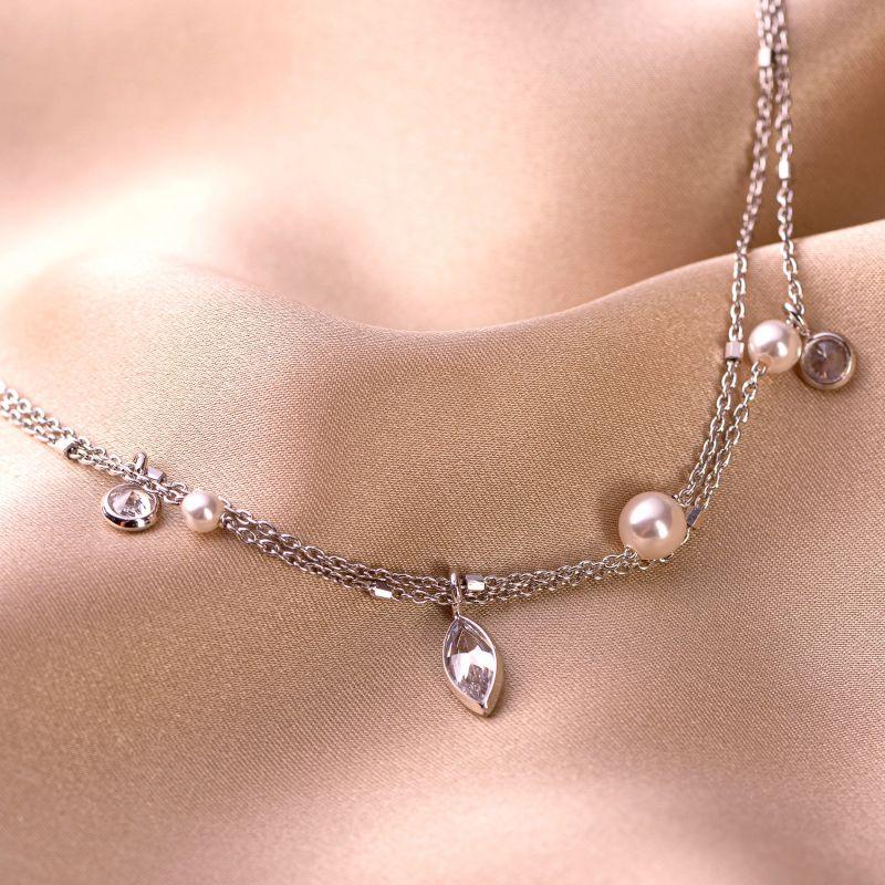 Bratara argint Desire Pearl & Cristals