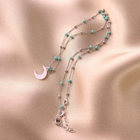 Sterling Silver Necklace La Luna