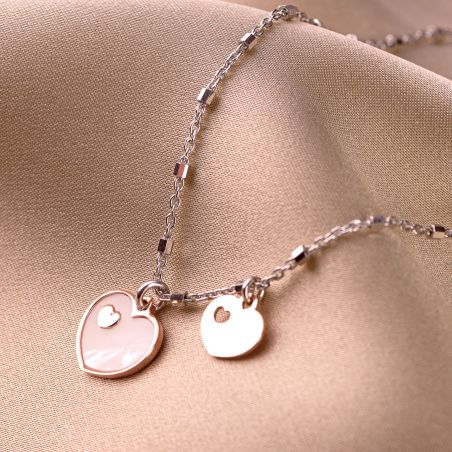 Sterling Silver Necklace My Sweet Hearts