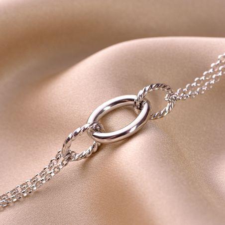 Sterling Silver Bracelet Endeavour