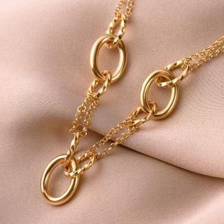 Colier argint Endeavour gold