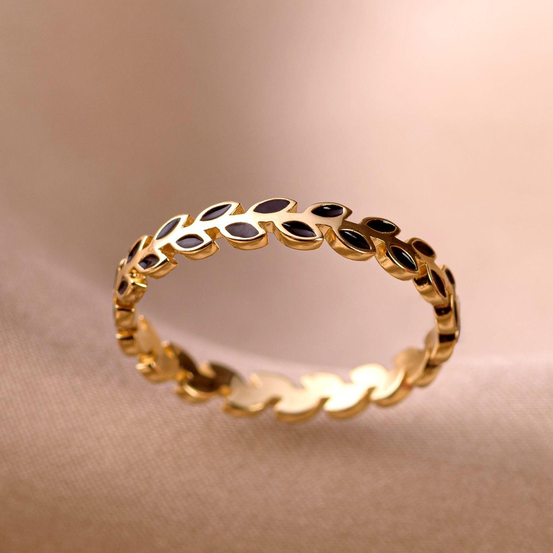 Inel argint nereglabil Minimal Design gold