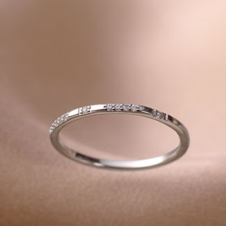 Inel argint nereglabil Minimal Touch