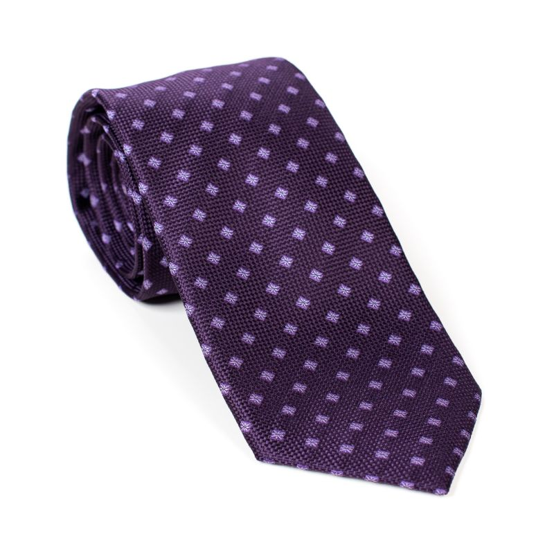 Cravata L. Biagiotti Siena true mauve