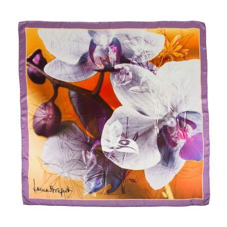 Silk Scarf Laura Biagiotti orchid lila