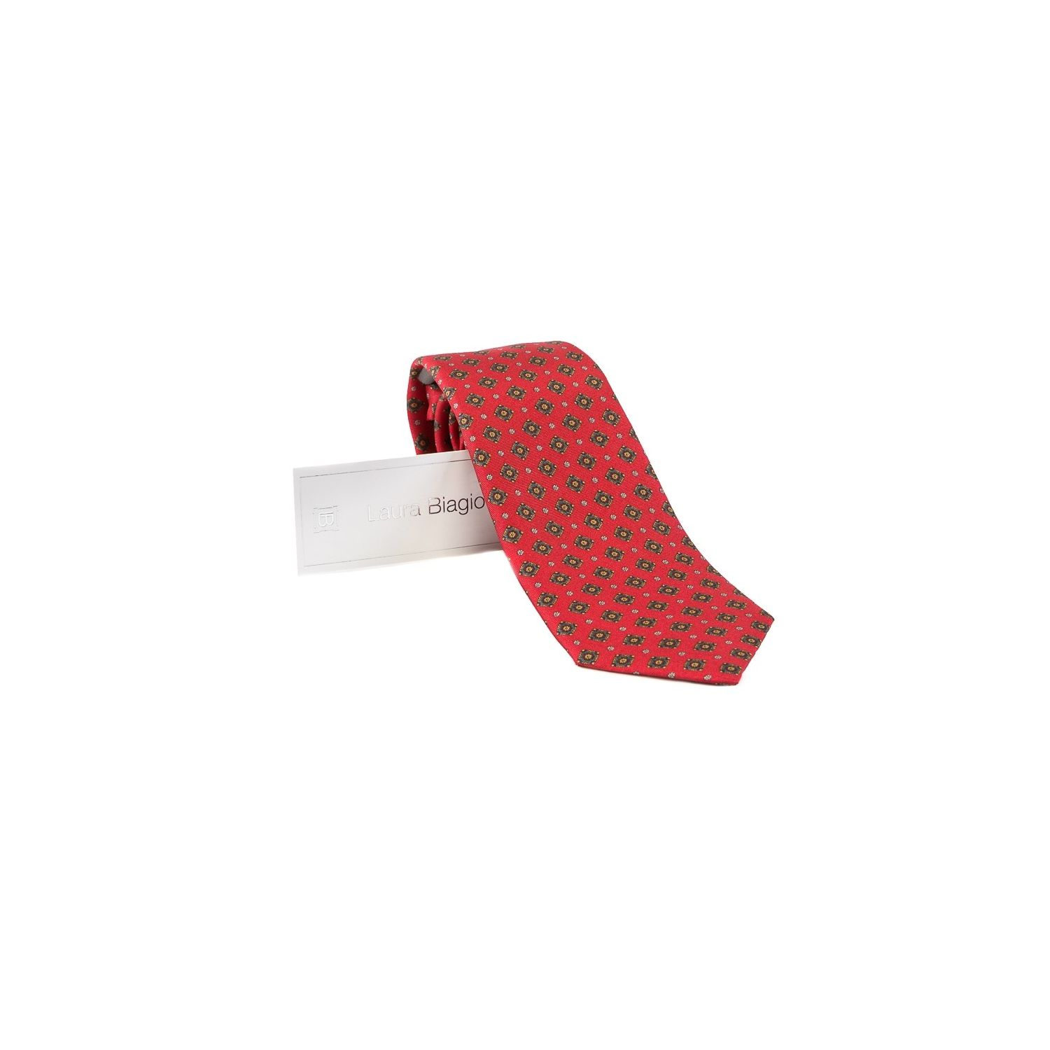 Laura Biagiotti tie out of office red