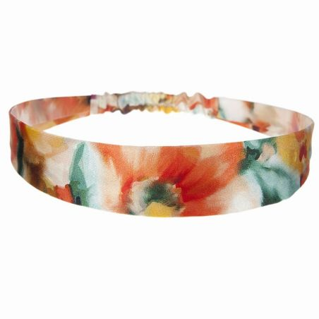 Aquarelle elastic wide headband