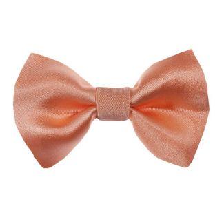 Apricot bow clip