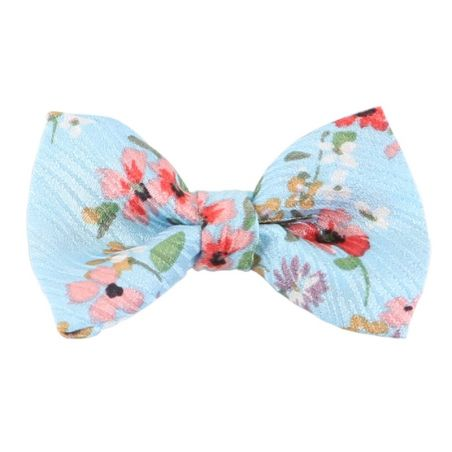 Flowering cherry turquoise bow
