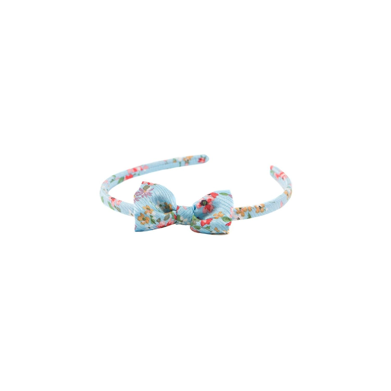 Tucoaz with cherry flowers bow headband