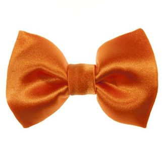 Cibanone orange bow clip