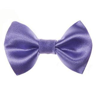 Lavender bow clip
