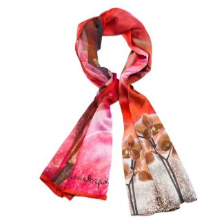 Silk Shawl Laura Biagiotti icecream pink