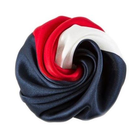 Trandafir de par alb, rosu, albastru