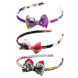 Headband: Amore di Parma, Roses Crush and Mystic Red