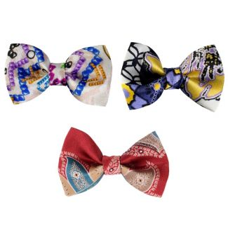 Bow: Candy Bar, On lavender flowers and Marsala Luxury