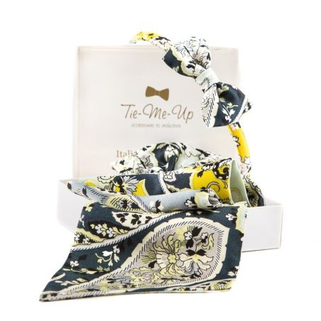 GIFT: Scarf drive and headband with bow Mayfair