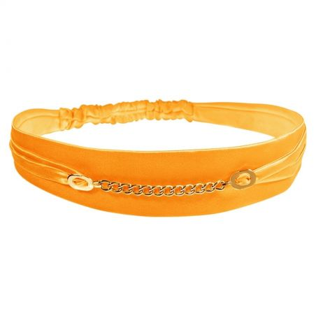 Cibanone orange chain headband
