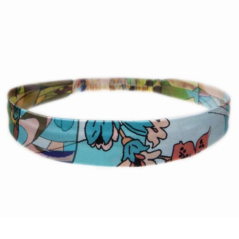Headband cu elastic Blue Girl
