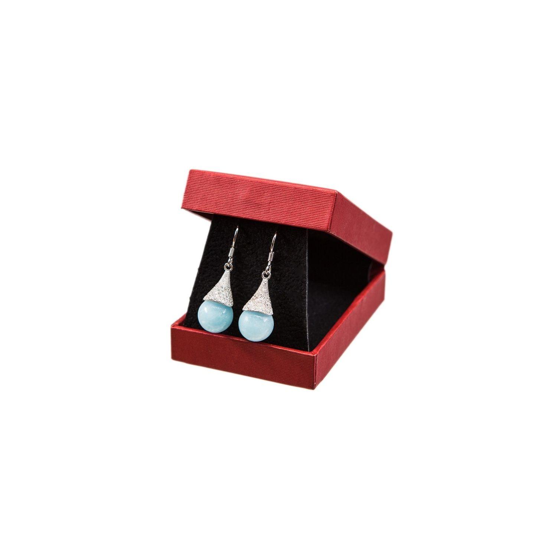 Silver earrings lily Angeli