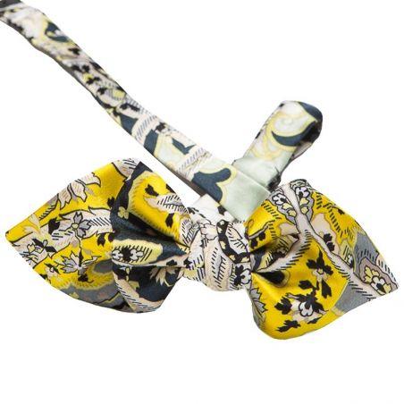 Asymmetrical Bow Tie Silk Mayfair