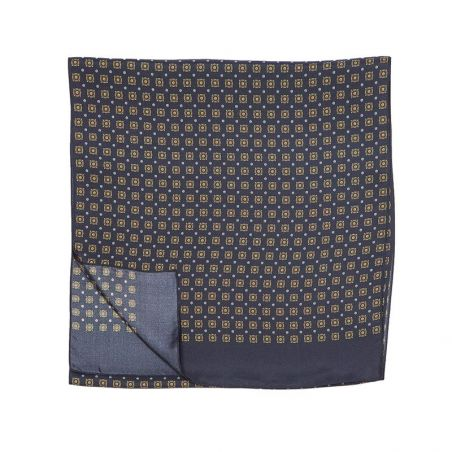 Men Scarf Laura Biagiotti navy