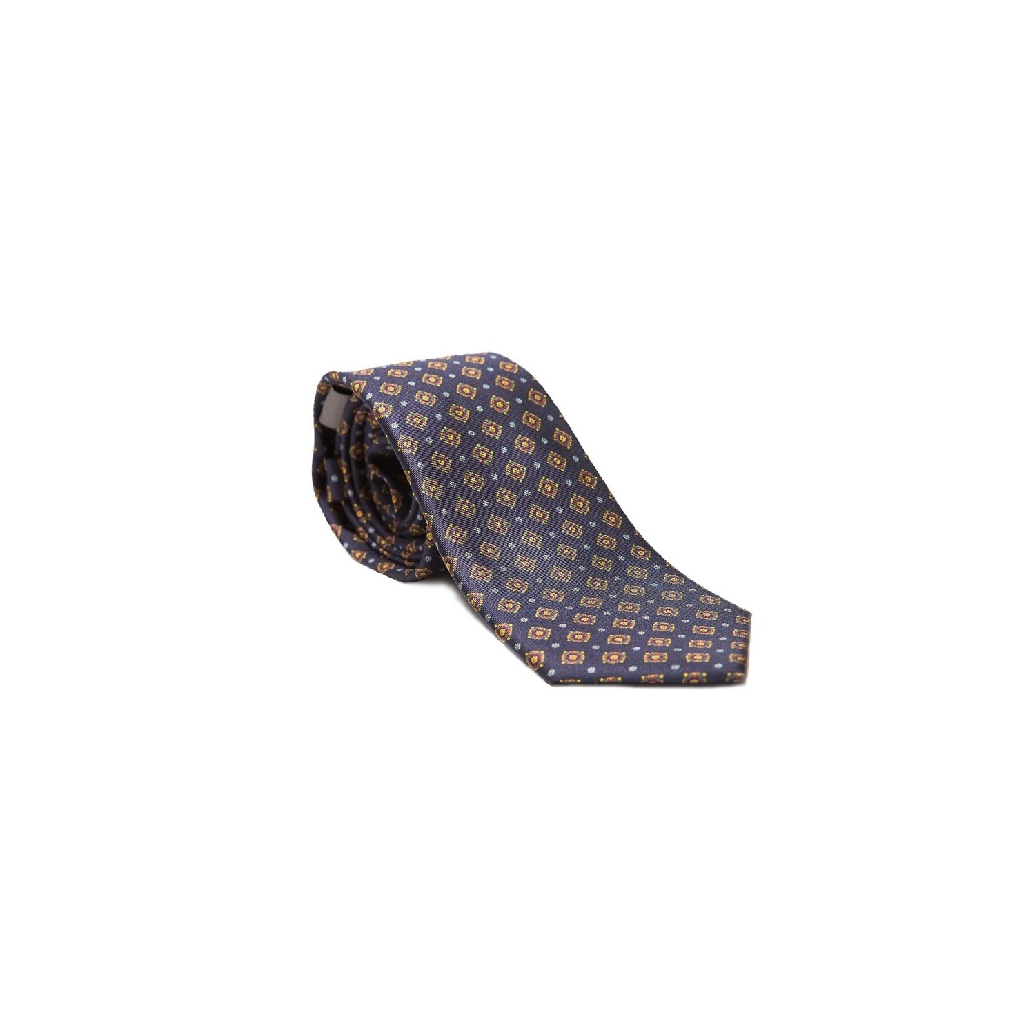 Laura Biagiotti tie out of office navy