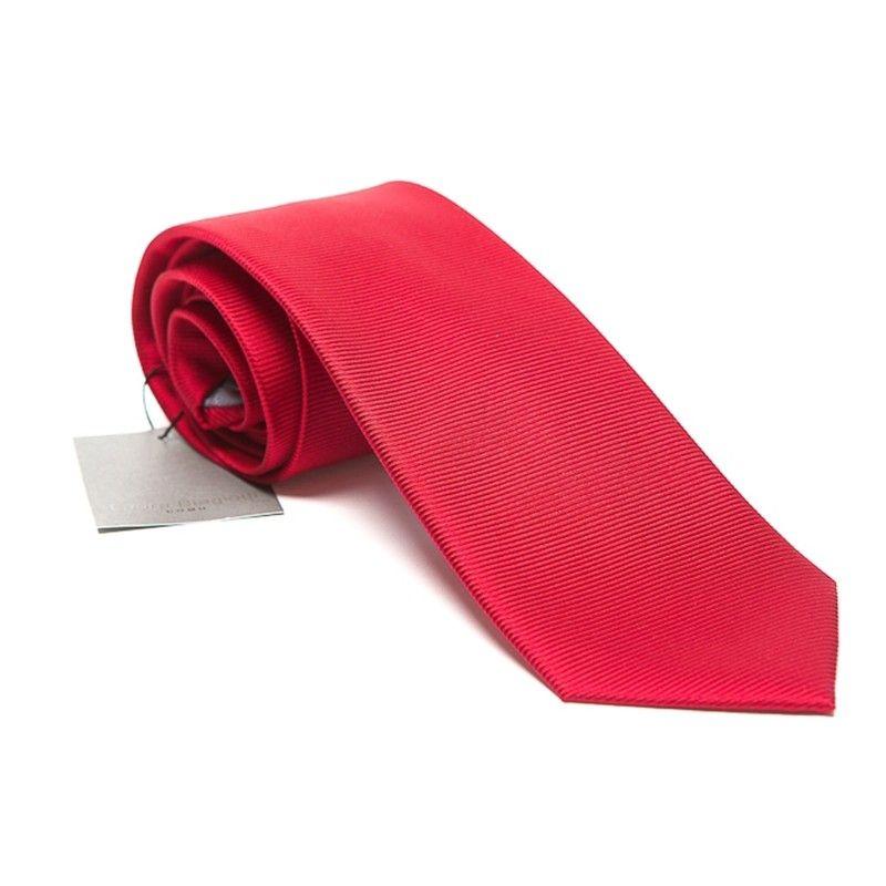 Silk Tie bordo uni Laura Biagiotti