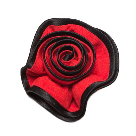 Brooch silk flamenco