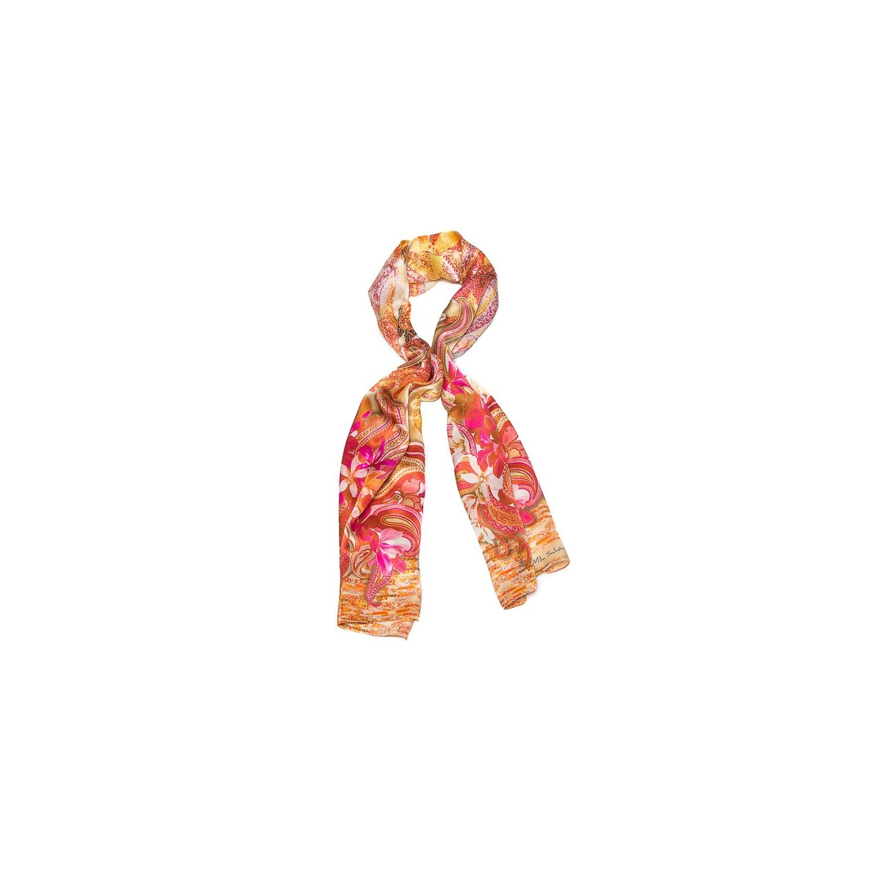 Silk Shawl Mila Schon pink hydrangeas
