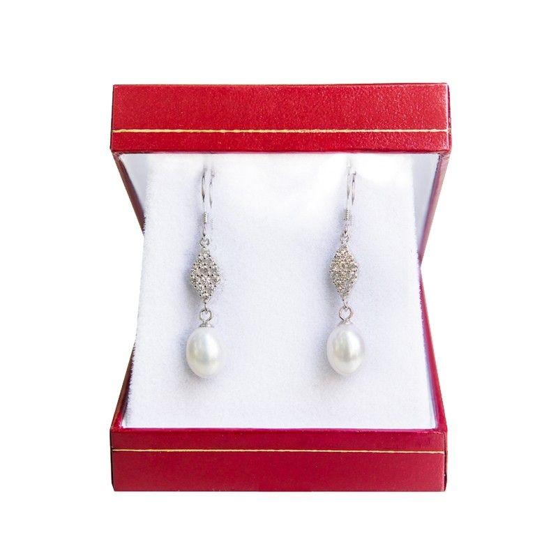 Cercei argint Wedding Pearls