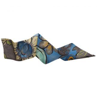 Azzurro di Capri hair scarf