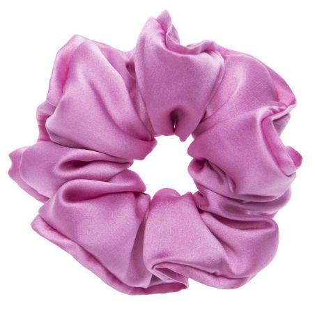 Dusty pink hair twist