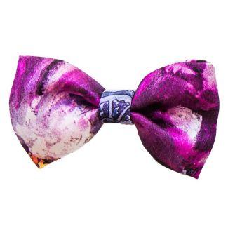 Purple Kiss bow
