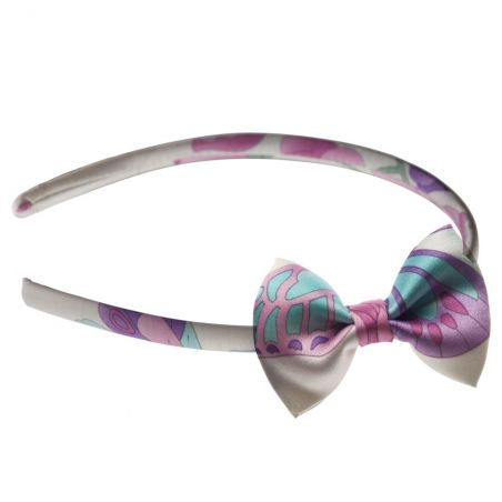 Butterfly bow headband